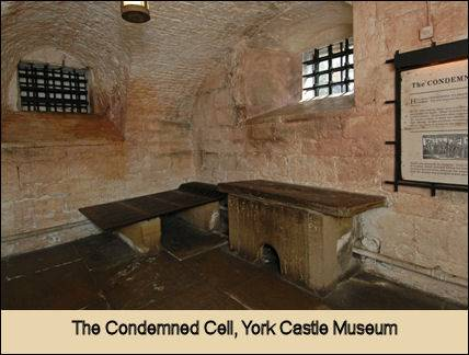 Dick Turpin's Cell, York Castle Museum